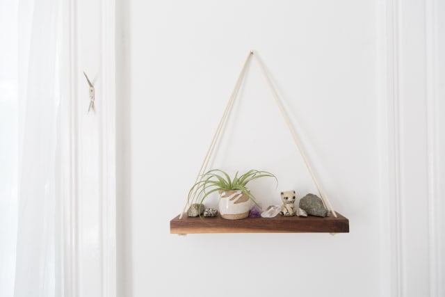 Proof Your Wall Shelves Don't Have to be Boring
