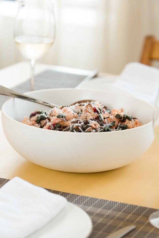 Recipe Pasta With Swiss Chard Sausage Amp Chanterelles
