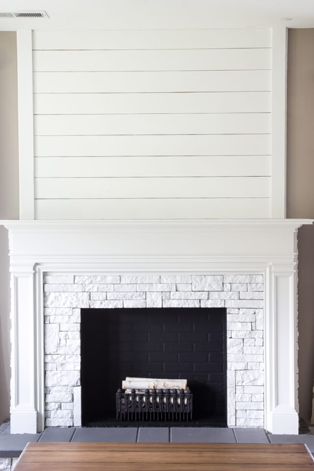 Diy Fake Fireplace Facades Faux Mantel Makeovers