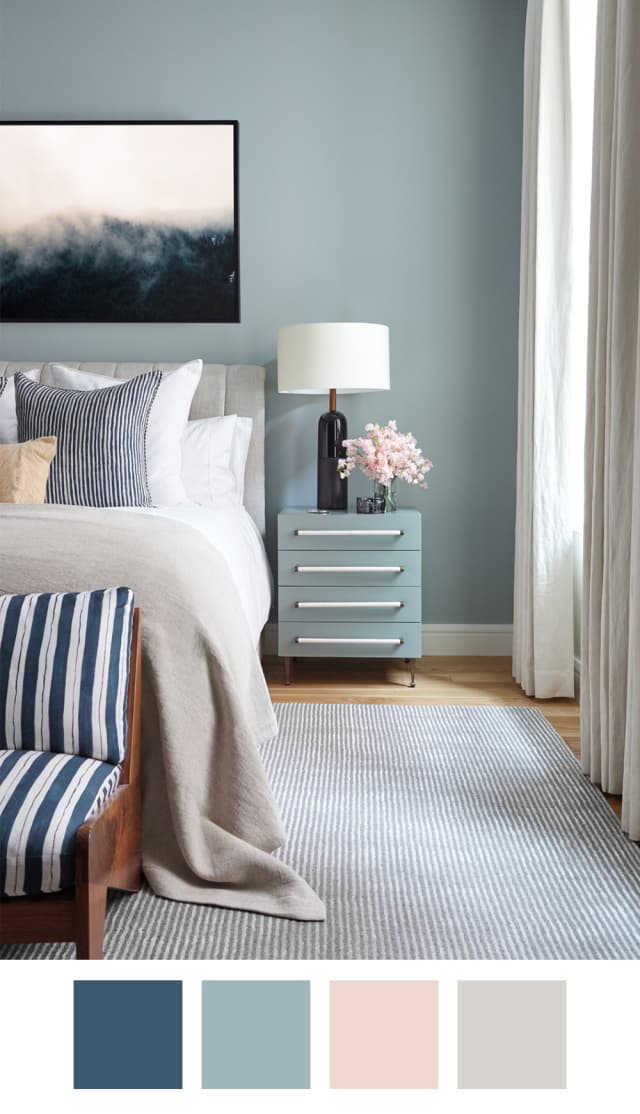 Blue Bedroom Paint Color
