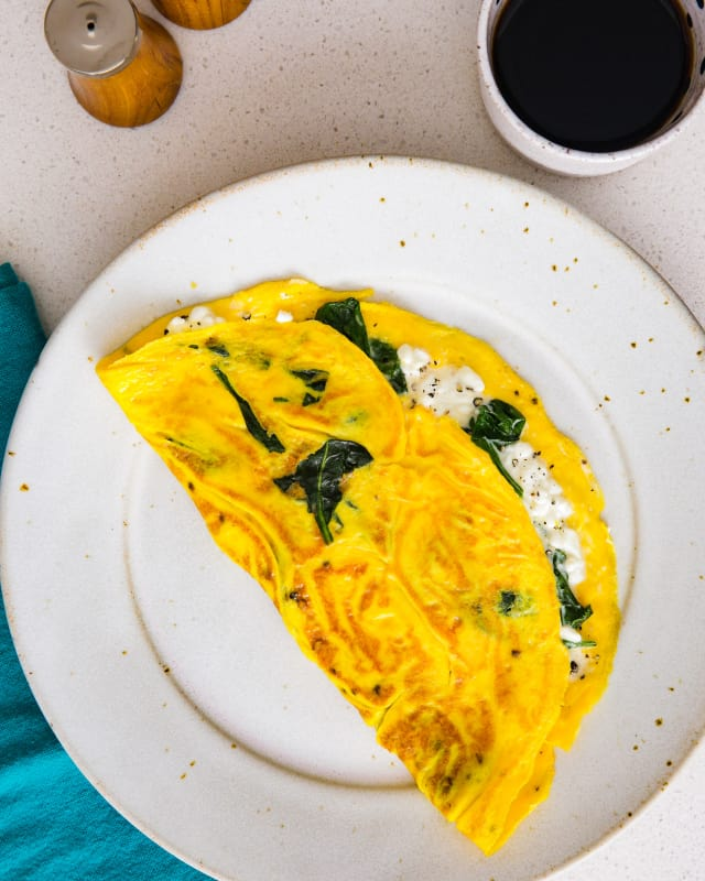 Recipe: High-Protein Cottage Cheese Omelet — Recipes from The Kitchn