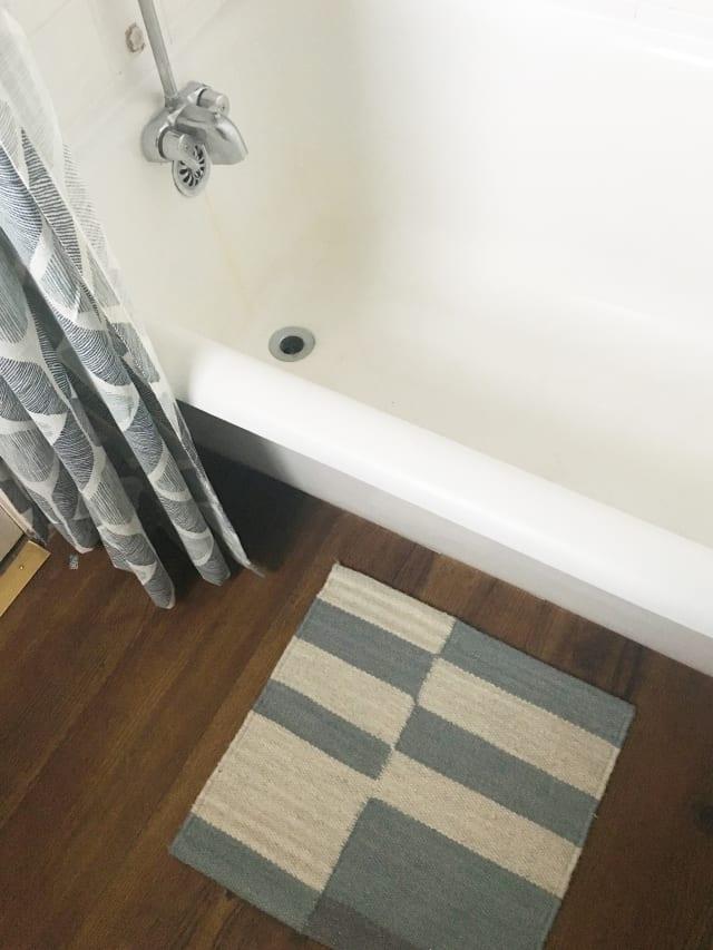 Luxury Vinyl Tile Plank Flooring For Rental Bathrooms