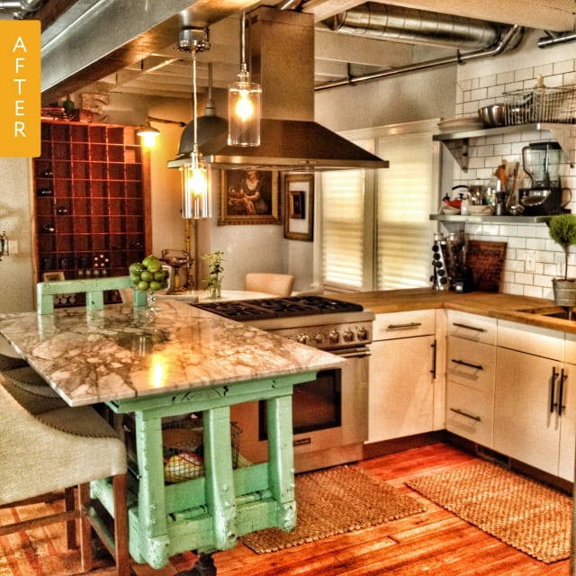 Apartment Kitchen: Kitchen Before & After: An Apartment-Sized Kitchen Gets A