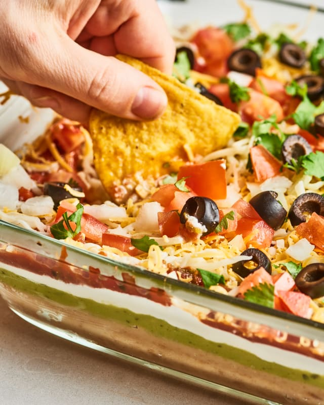 Recipe: Best-Ever 7-Layer Dip — Recipes from The Kitchn