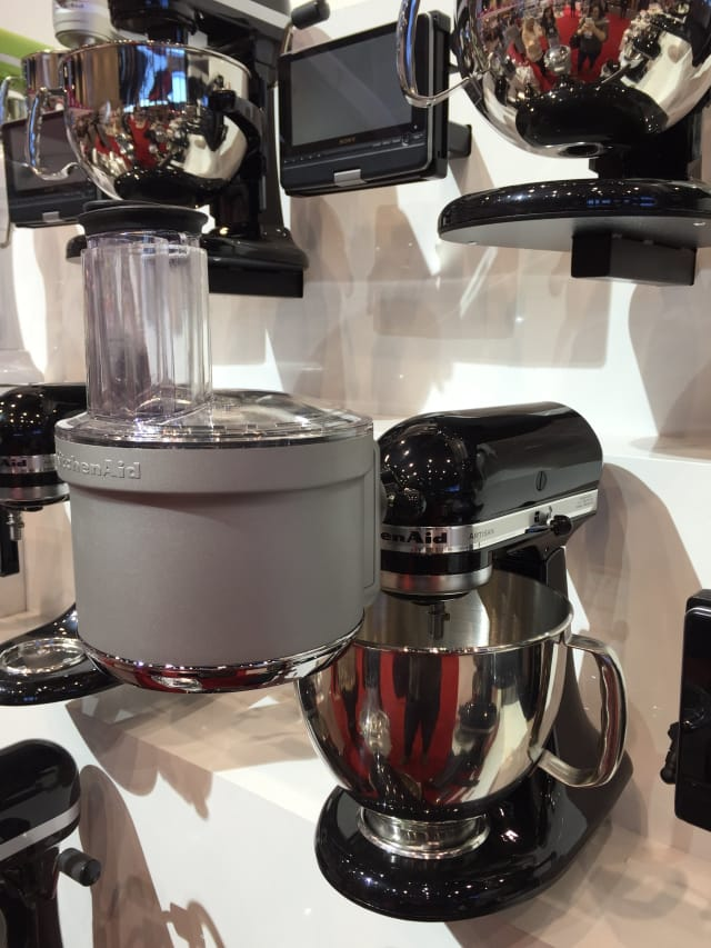 Kitchenaid S New Stand Mixer Color For 2015 Is Champagne