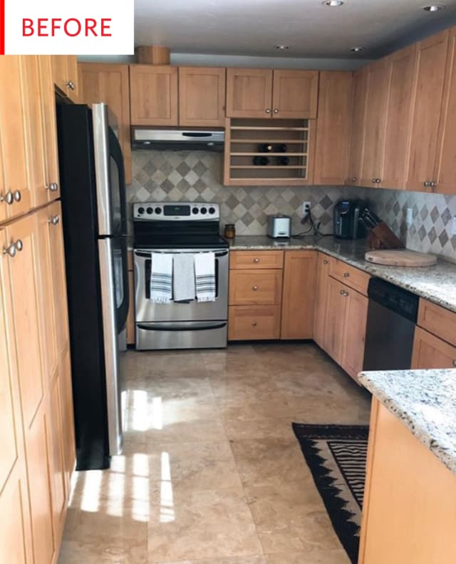 Kitchen Renovation Apartment Therapy: White Painted Shaker Cabinets