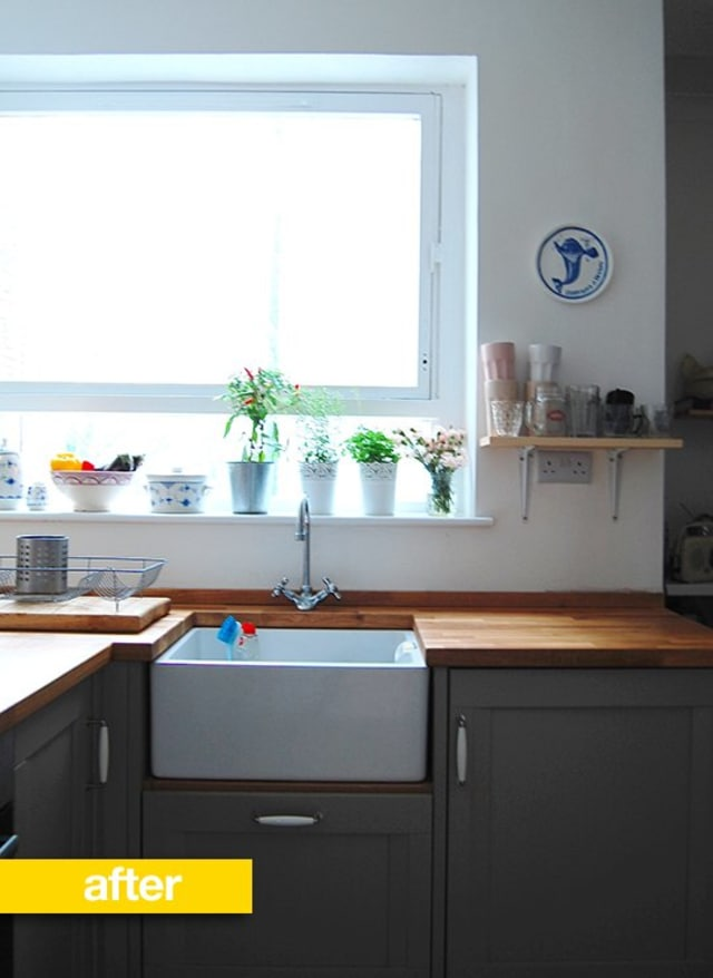 Kitchen Before Amp After A London Kitchen Goes From Garish