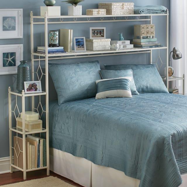 Bedroom Storage Shelves - Above the Bed Storage ...