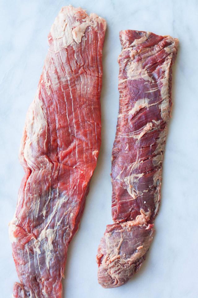 Flank steak the same as skirt and hanger steak? | MyRecipes