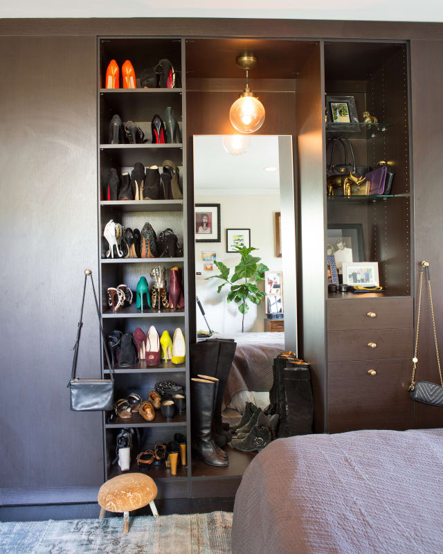 20 Ideas For Organizing Your Bedroom Closet