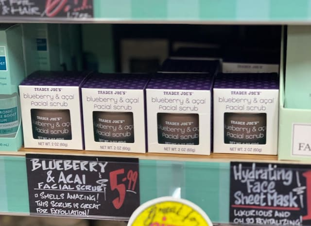 I Tried Trader Joe's Facial Scrub and the Hype Is Legit — Grocery News