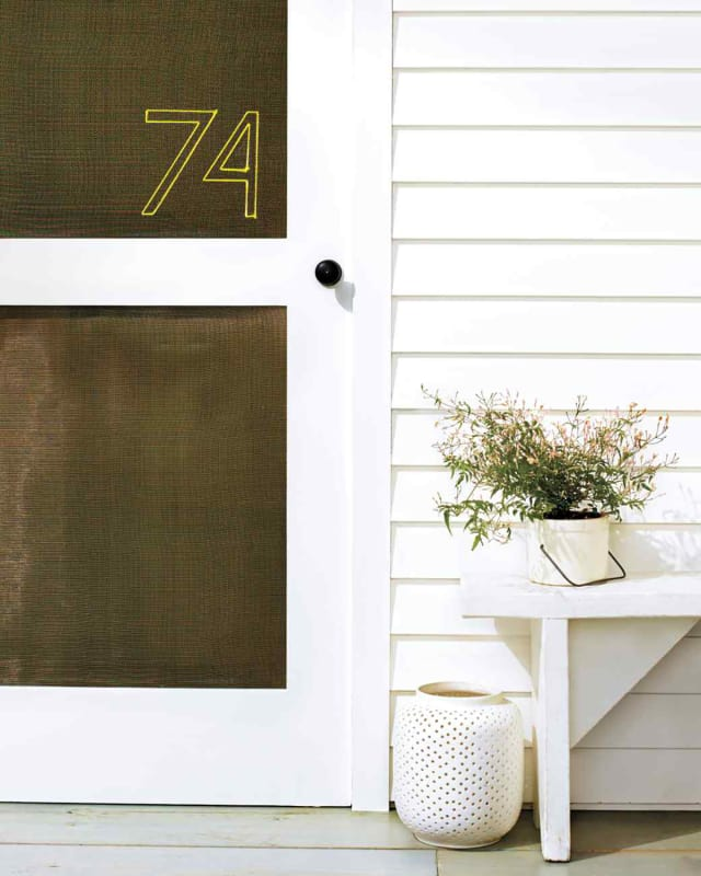 This Must Be The Place: 12 House Number DIY Ideas