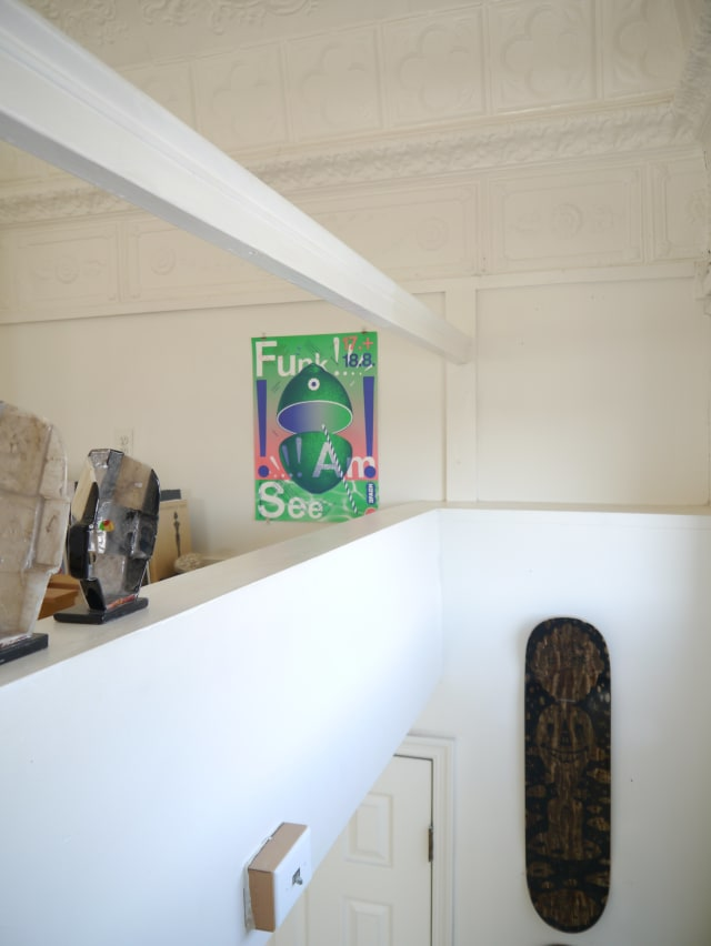 House Tour A White Amp Technicolor Baltimore Loft