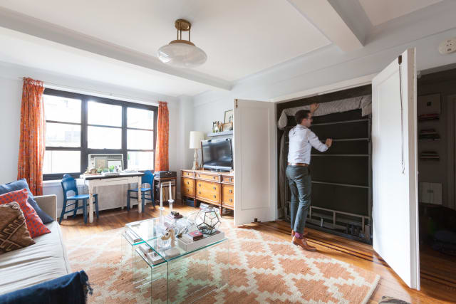 Space-Saving Murphy Beds You Can Either Buy or DIY