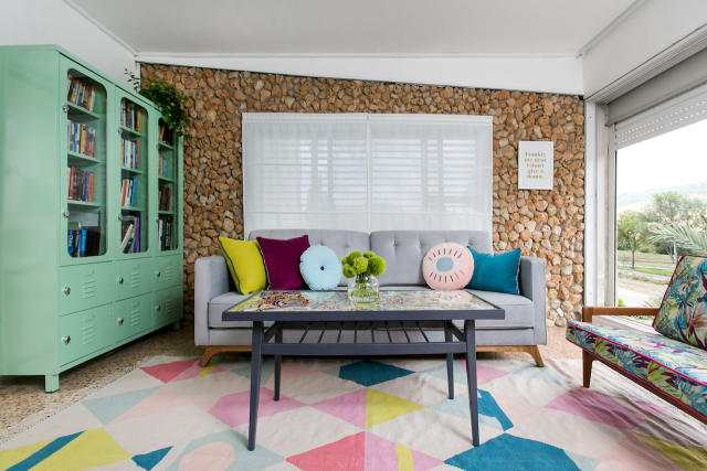 This Home Is Colorful and Patterned Despite Being a Rental — House Call