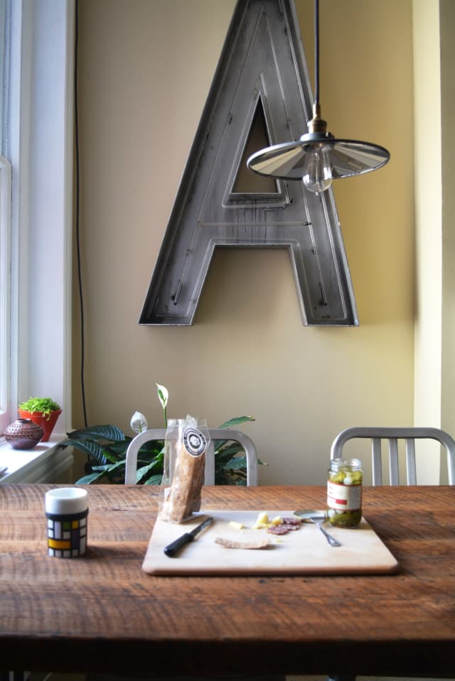 House Tour Reclaimed Materials In A Baltimore Rental
