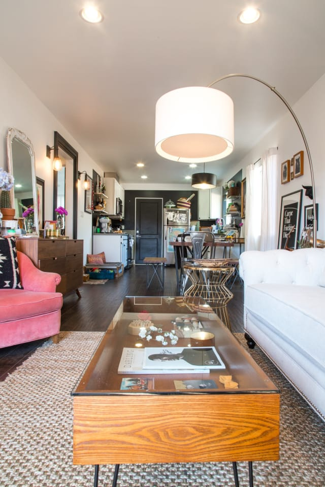 Jaclyn S Cozy Kitschy Silver Lake Home Apartment Therapy