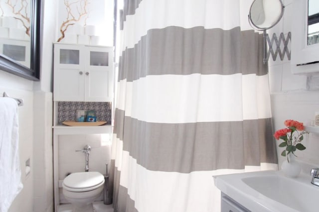 Bathroom Bettering Ideas You Can Do When You Cant Renovate Your Rental Apartment Therapy