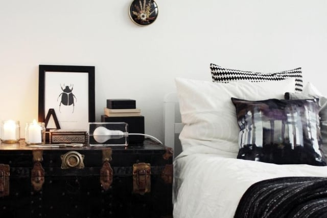 Alternative ideas for nightstands apartment therapy image credit lily watchthetrailerfo