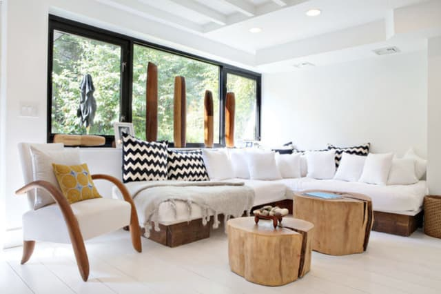 Modern Look Living Room Design organic modern living room: get the look   apartment therapy