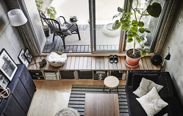 Ikea Apartment Small Space Ideas Under 300 Sq Ft Apartment Therapy