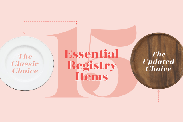 Everything You Need To Know About Wedding Registries Kitchn