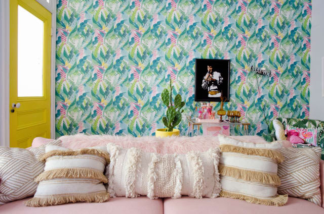 what nobody tells you about removable wallpaper apartment therapy