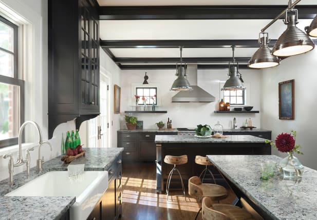 Beautiful Rooms With a Modern Farmhouse Style | Apartment Therapy on alison kandler interior design, modern farmhouse kitchen design, decorating farmhouse-style kitchen, white wood interior design, simple interior design, japanese style interior design,