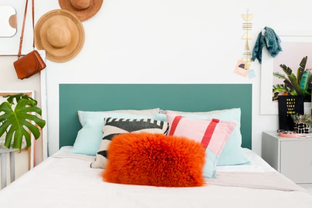 Diy Headboard Projects Bedroom Makeover Ideas Apartment Therapy