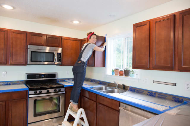 Painting Kitchen Cabinets - DIY, Professional Tips   Kitchn