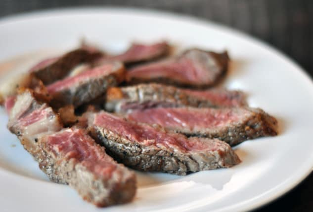 Broiling boneless ny strip steak