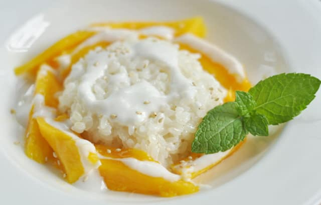 How To Make Thai Mango With Coconut Sticky Rice Kitchn