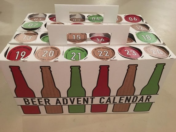 Count Down To Christmas With A Beer Advent Calendar Kitchn