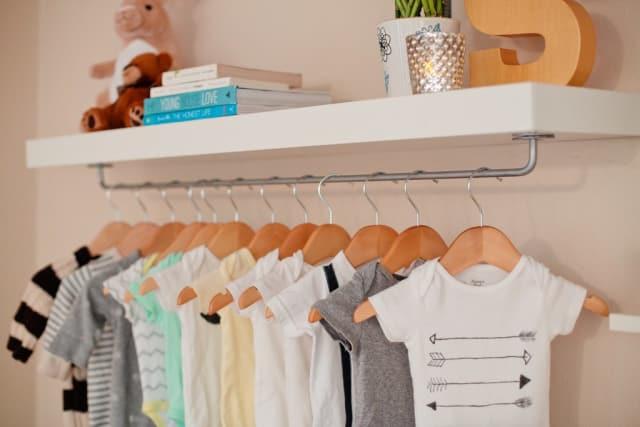 Easy Ikea Lack Hack How To Make A Nursery Wardrobe Shelf