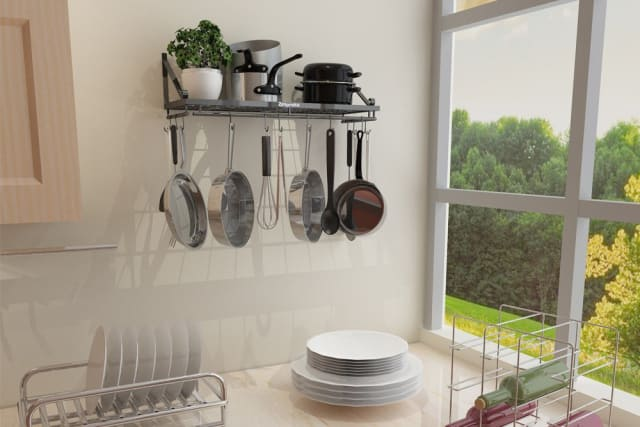 Amazon Deal Of The Day Top Rated Kitchen Pot Rack Apartment Therapy