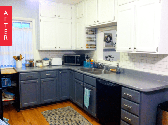 Before Amp After A Fresh Kitchen Makeover For Under 500