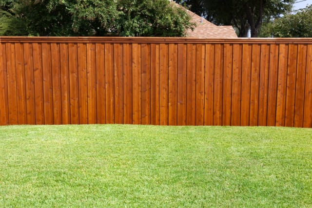 How Much Did it Cost to Build a Wooden Privacy Fence? | Apartment Therapy - How Much Did It Cost To Build A Wooden Privacy Fence? Apartment
