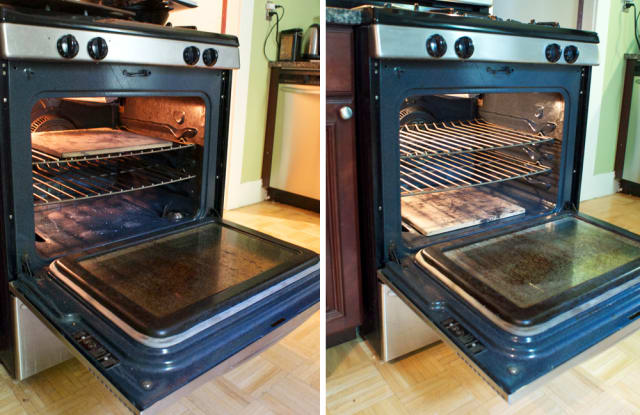 Cleaning The Oven Thats Never Been Cleaned And Mostly Succeeding
