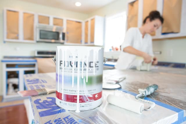 The Best Paint For Painting Kitchen Cabinets Kitchn - Best product for painting kitchen cabinets