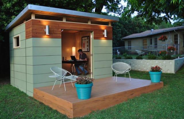 Modern Backyard Shed backyard offices: 8 modern prefab sheds | apartment therapy
