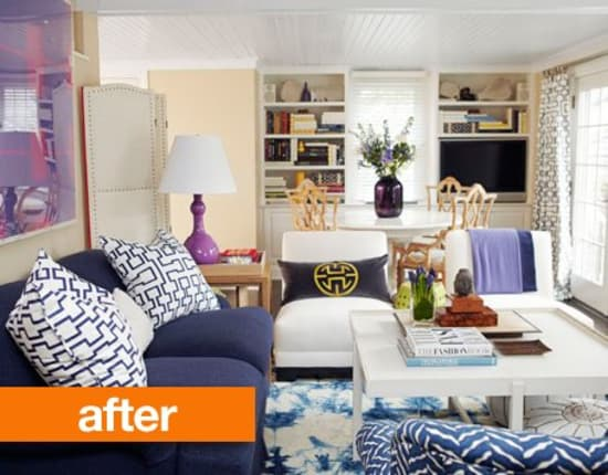 Before Amp After 8 Complete Living Room Makeover Projects From