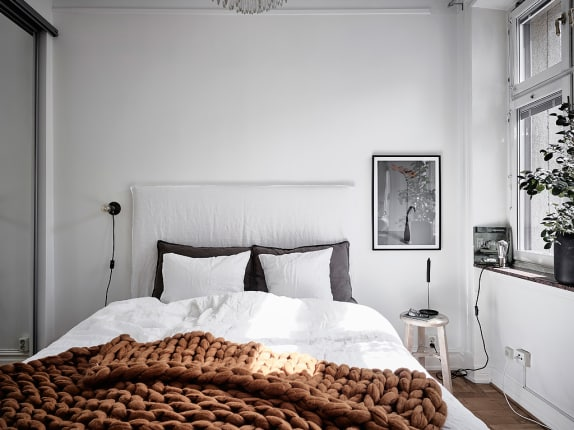 Minimalist Bedroom Ideas That Arent Boring Apartment Therapy - Gray-bedroom-minimalist