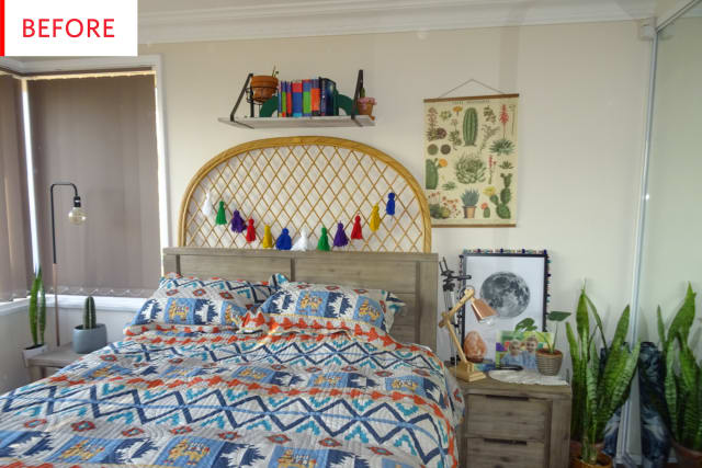 This Bedroom Goes Even More Boho