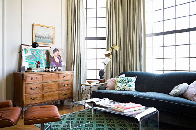 The modern mix ways to work vintage pieces into modern