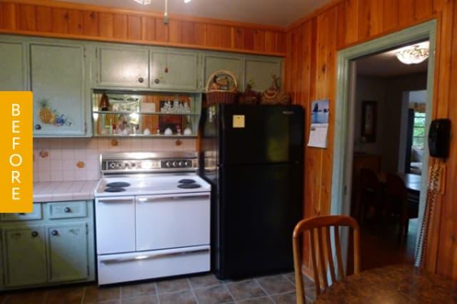 Amp 1950s Kitchen Enters 21st Century Kitchn Image Credit Inspired