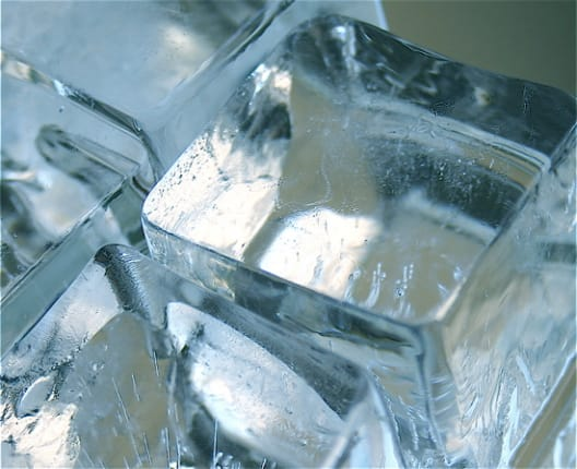 Why Does Water Freeze Into Cloudy Ice Cubes In My Freezer Kitchn
