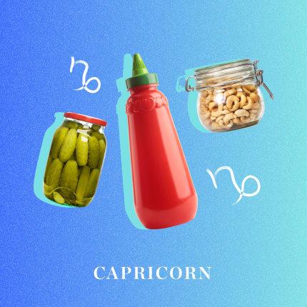 Capricorn: The fridge & pantry