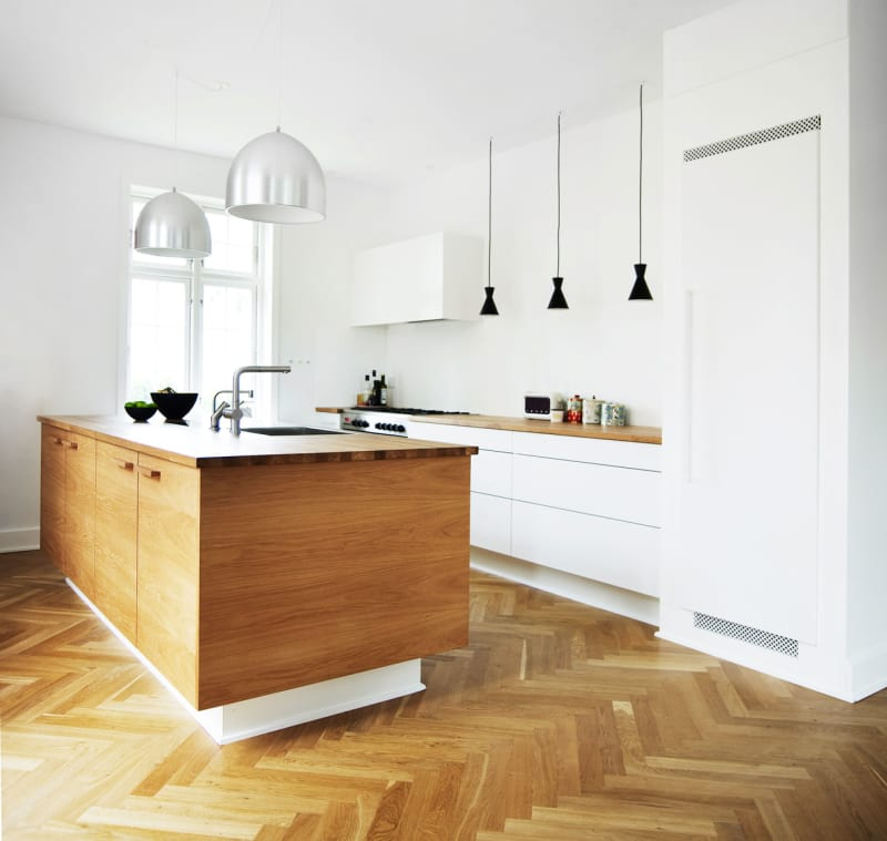 Kitchen Flooring Apartment Therapy: Kitchens Without Upper Cabinets: Should You Go Without