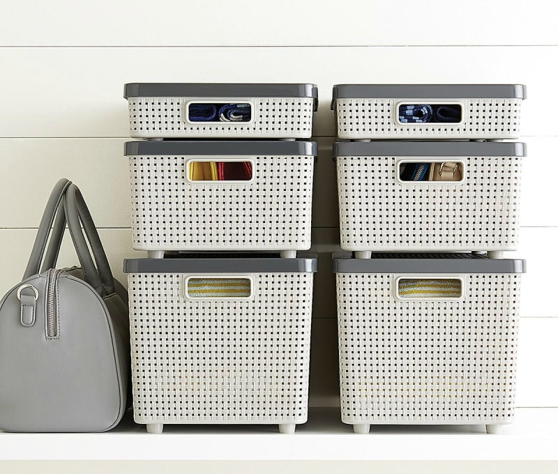 Grey Cottage Woven Storage Bins: 101 Places To Buy Furniture & Home Decor Online