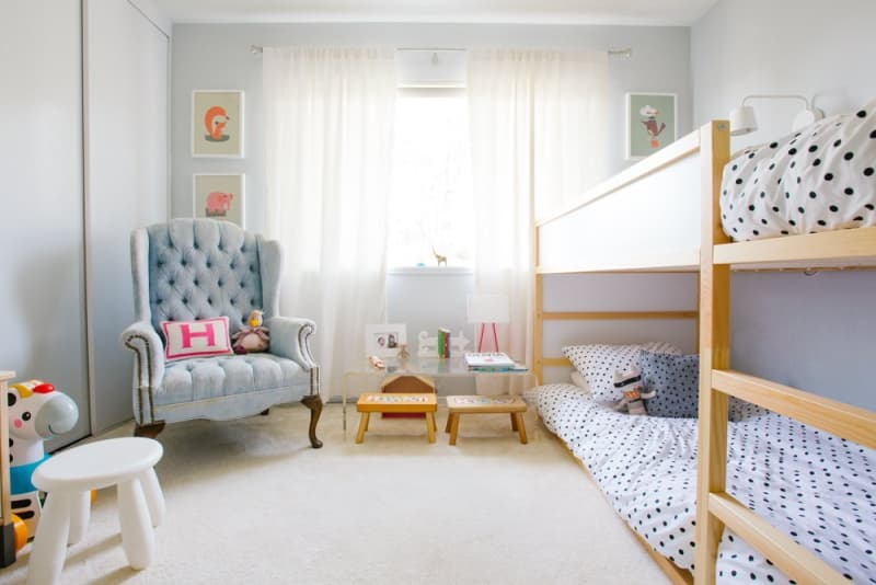 Kura For Two Using Ikea S Low Loft As A Bunk Bed